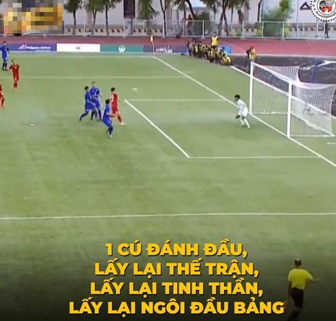Anh che Tien Linh la nguoi hung trong tran doi dau U22 Thai Lan hinh anh 3