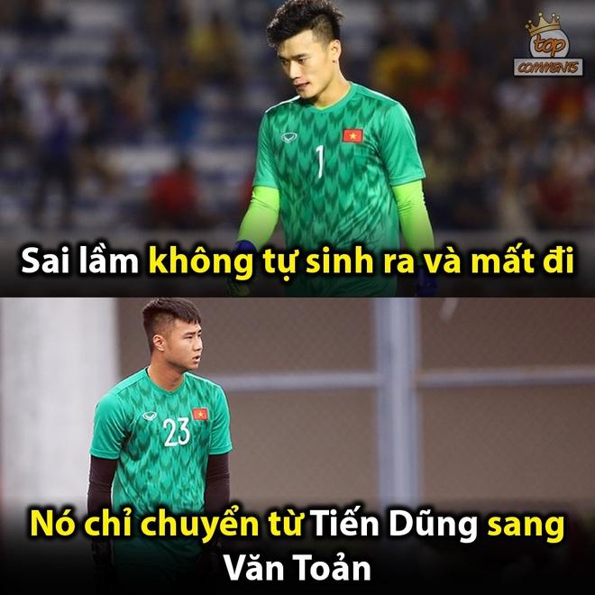 Anh che Tien Linh la nguoi hung trong tran doi dau U22 Thai Lan hinh anh 2