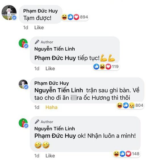 Duc Huy hua moi an la 'dong luc' de Tien Linh ghi ban truoc Campuchia hinh anh 1