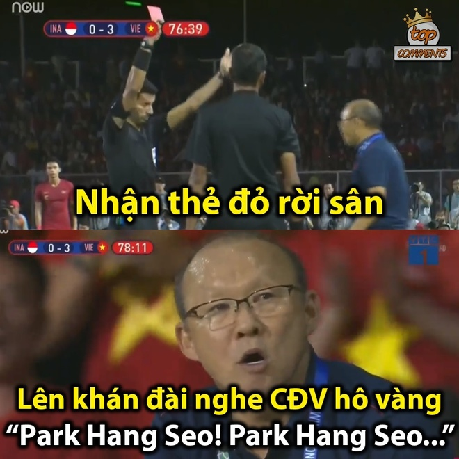 Chiec the do cua HLV Park tro thanh cam hung che anh hinh anh 5