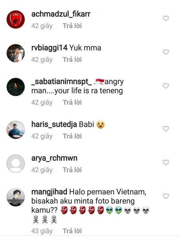 Trang ca nhan cua Van Hau bi CDV Indonesia tan cong hinh anh 2
