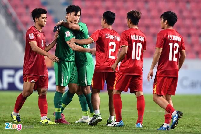 U23 Viet Nam bi loai anh 1