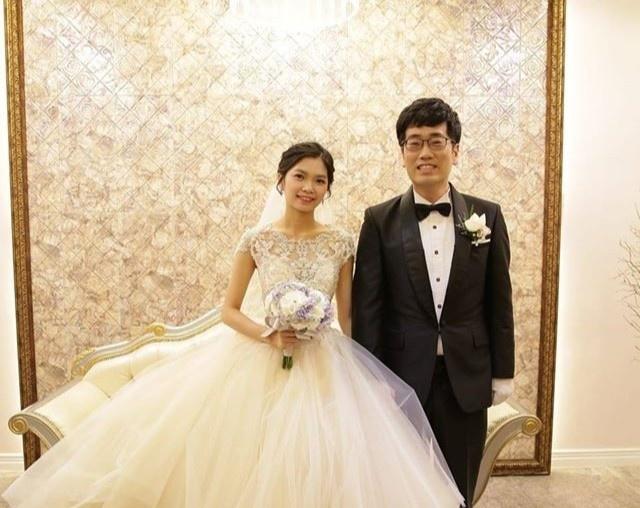 Cặp vợ chồng hiện sống tại Hàn Quốc.