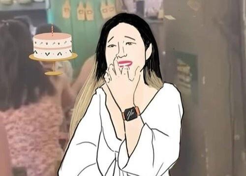 Cô gái ăn lén bánh kem của người lạ bị chế ảnh, tạo tài khoản giả ...