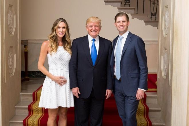 con dau con re tong thong Trump anh 5