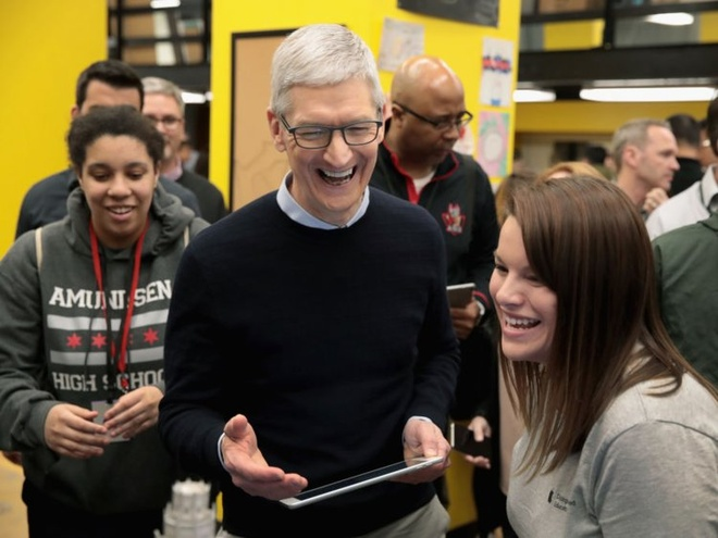 Cuoc song gian di cua CEO Tim Cook hinh anh 20