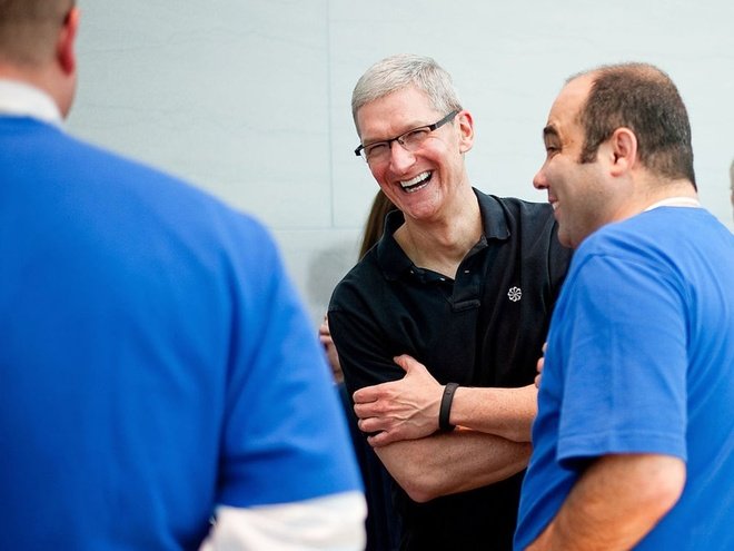 Cuoc song gian di cua CEO Tim Cook hinh anh 21