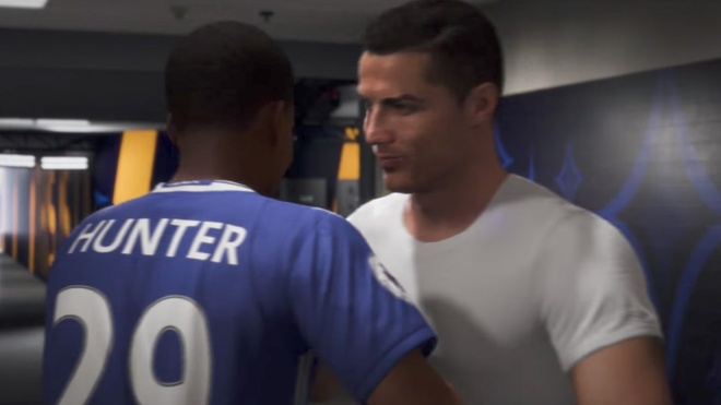 Ronaldo lam kho game FIFA nhu the nao? hinh anh 2