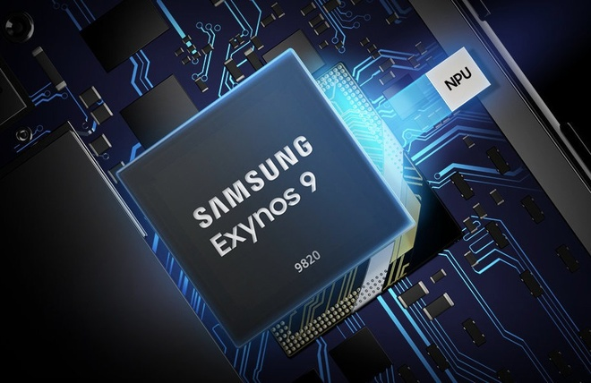 Samsung gioi thieu chip Exynos 9820, lan dau tien co vi xu ly AI hinh anh