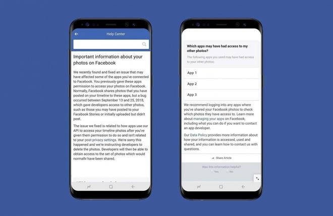Facebook dinh scandal lo anh rieng tu gan 7 trieu nguoi dung hinh anh 1