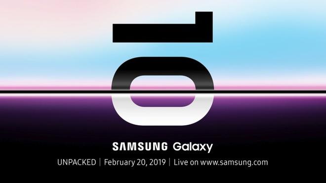 Thư mời sự kiện ra mắt Galaxy S10 từ Samsung ngụ ý về một màn hình có viền siêu mỏng.