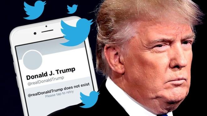 Ong Trump lang le xoa tweet vi dinh ban quyen am nhac hinh anh