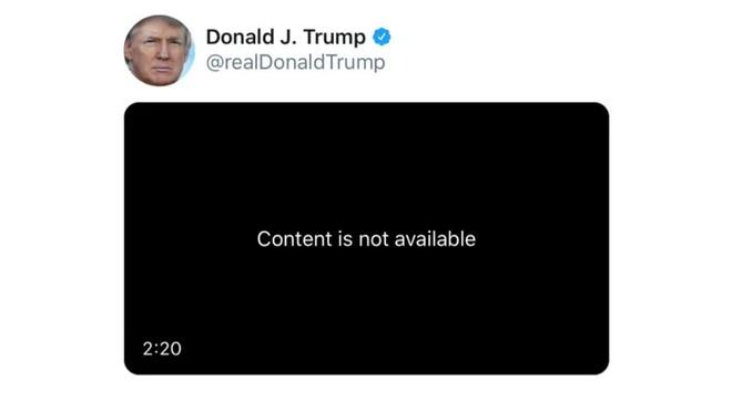 Ong Trump lang le xoa tweet vi dinh ban quyen am nhac hinh anh 1