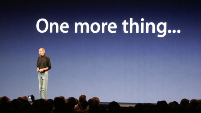 Apple thua kien hang dong ho chi vi cau noi 'One more thing' hinh anh 1