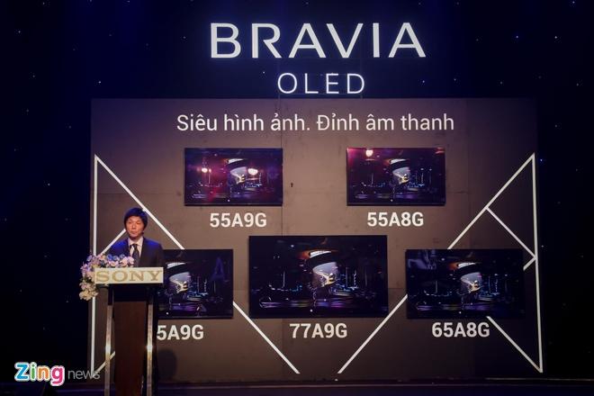 Sony ra mat loat TV Bravia 2019 tai Viet Nam hinh anh 1