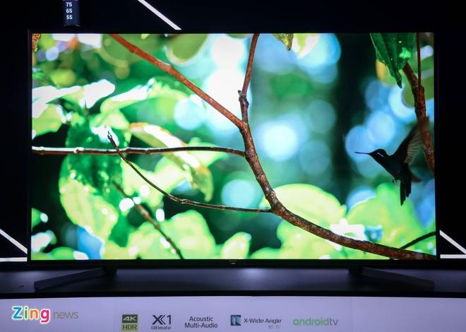 Sony ra mat loat TV Bravia 2019 tai Viet Nam hinh anh 4
