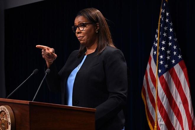 Bà Letitia James, Tổng chưởng lý bang New York cho biết Facebook sẽ sớm bị điều tra tại New York. Ảnh: Getty.