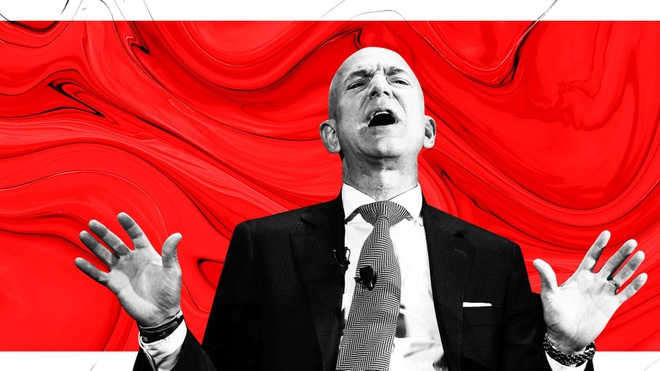 Van phong cua ty phu Jeff Bezos lap ca kinh chong dan hinh anh 1