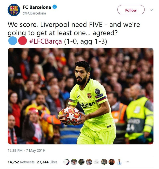 Internet day song sau dai chien Liverpool va Barcelona hinh anh 1