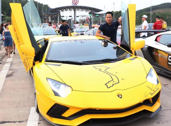 Car Passion 2019 - Aventador S gap su co tren hanh trinh toi Moc Chau hinh anh 4