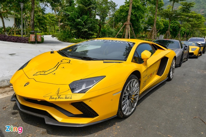 Car Passion 2019 - Aventador S gap su co tren hanh trinh toi Moc Chau hinh anh 5