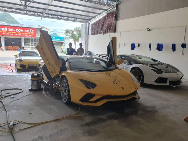 Car Passion 2019 - Lamborghini Aventador S gap su co,  van toi Moc Chau an toan anh 8
