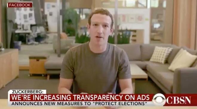 Ngoài phim người lớn, deepfake còn được sử dụng để giả mạo bài phát biểu của những người nổi tiếng như cựu Tổng thống Mỹ Barack Obama hay CEO Facebook Mark Zuckerberg. Ảnh từ video giả mạo, tự nói xấu Facebook với gương mặt của CEO Mark Zuckerberg.