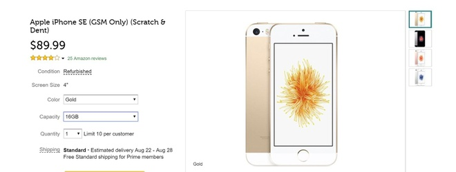 Chiec iPhone re nhat, nho nhat vua duoc 'hoi sinh' voi gia 90 USD hinh anh 2