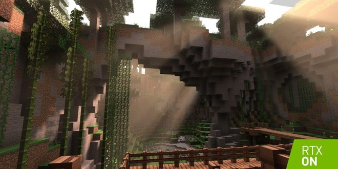 minecraft cap nhat ray tracing anh 1
