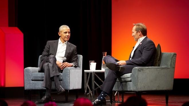 Ong Obama: 'Tong thong My khong nen xem tivi hay dung mang xa hoi' hinh anh 1