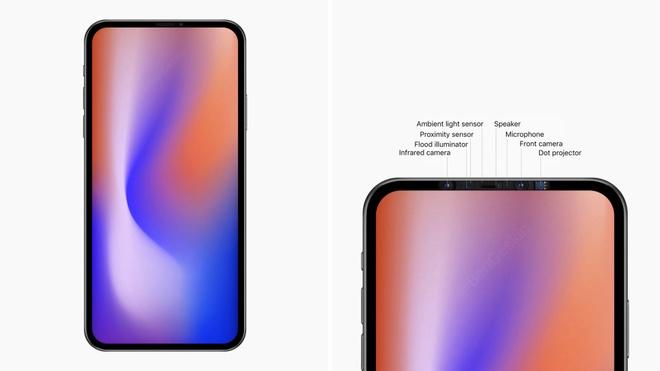 iPhone 2020 se co man hinh sieu lon, khong con khuyet dinh hinh anh 1
