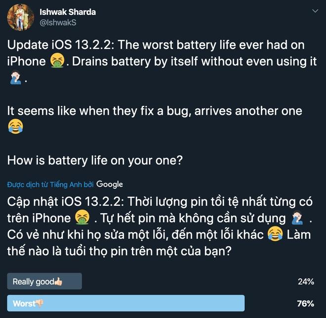 iOS 13 tiep tuc co ban cap nhat, phat sinh loi moi hinh anh 2