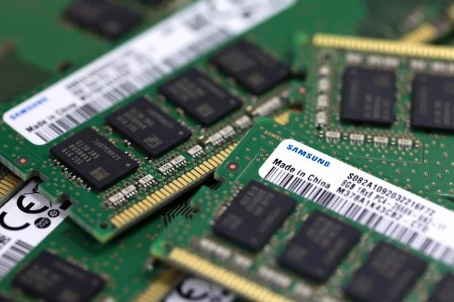 Bi My chan duong, Huawei nhap san chip so luong lon tu Han Quoc hinh anh 1 Samsung_chips_Bloomberg.jpg