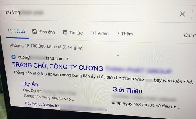 cong ty bat dong san bi hack website anh 1