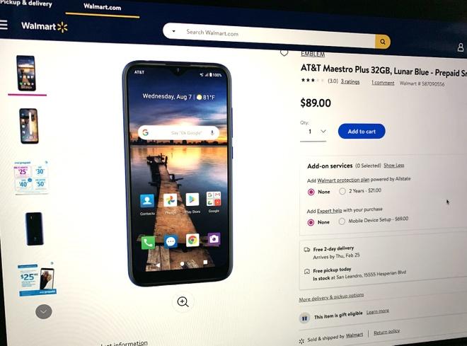 Smartphone do VinSmart sản xuất bắt đầu lên kệ tại Mỹ