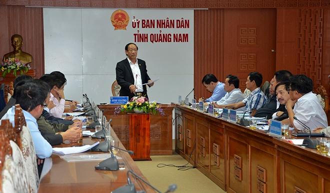 Nhieu ho thuy dien o Quang Nam van xa nuoc giua dem hinh anh 1