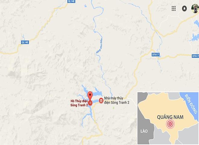 Nhieu ho thuy dien o Quang Nam van xa nuoc giua dem hinh anh 3