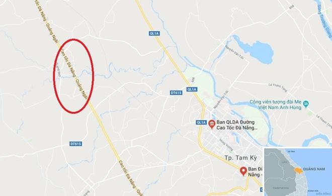 Tai nan tren cao toc Da Nang - Quang Ngai, 2 nguoi bi thuong hinh anh 2