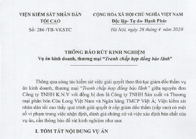 huy quyet dinh giam doc tham anh 1
