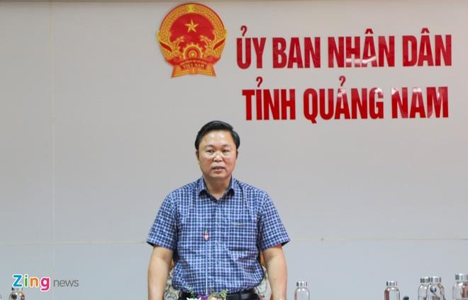 Gia han thanh tra vu mua may xet nghiem 7,2 ty cua So Y te Quang Nam hinh anh 2 letrithanh_zing.jpg