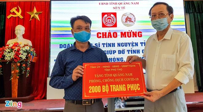 bac si o Phu Tho den chi vien Quang Nam anh 2