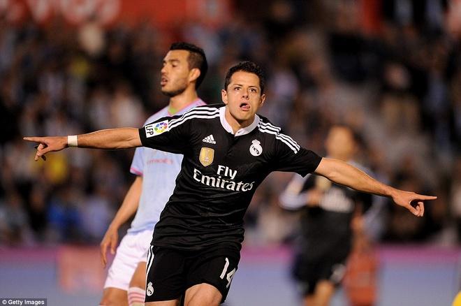 Chicharito the cho Ronaldo trong doi hinh tieu bieu La Liga hinh anh