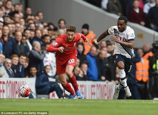 Herrera vang bong o doi hinh tieu bieu vong 9 Premier League hinh anh 5 Hậu vệ trái - Danny Rose (Tottenham): Dù Tottenham hòa Liverpool trên sân nhà nhưng màn trình diễn của Danny Rose khá ấn tượng. Không chỉ phòng ngự tốt khi khiến Liverpool gần như không thể có những pha tấn công đáng chú ý từ cánh trái, Rose còn thường xuyên hỗ trợ tấn công gây khó khăn cho hàng phòng ngự The Kop.