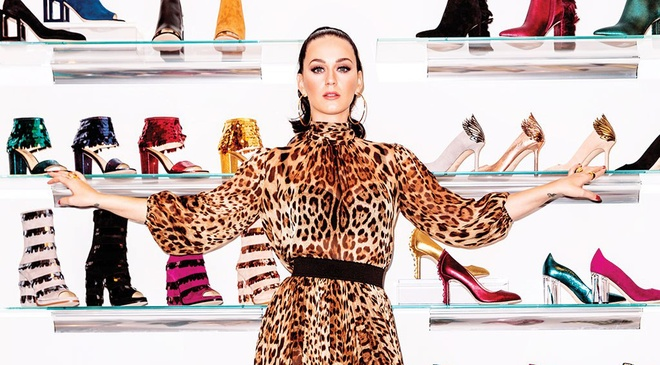 10 mau giay dep nhat trong bo suu tap moi cua Katy Perry hinh anh