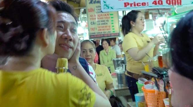 Tran Thanh meo mat vi bi 'cuong hon' tai cho Ben Thanh hinh anh