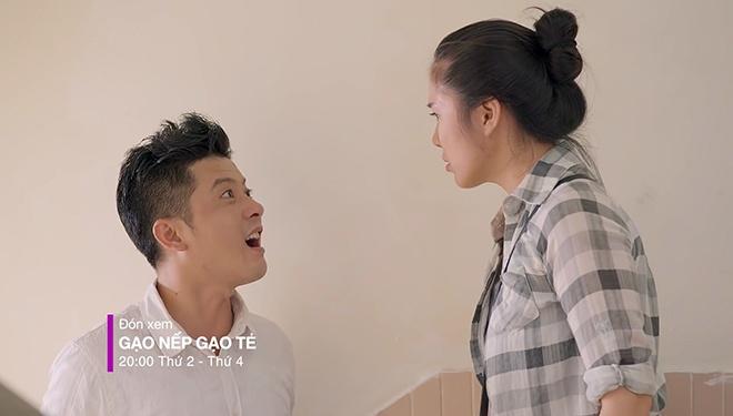 'Gao nep gao te': Le Phuong mang va quang quan ao chong ra khoi nha hinh anh