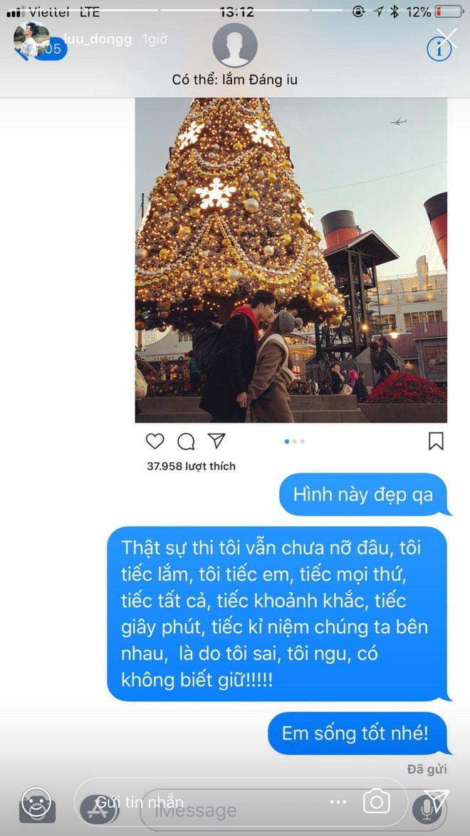 Bo theo doi nhau tren mang, Hao Dong - Si Thanh da chia tay? hinh anh 2