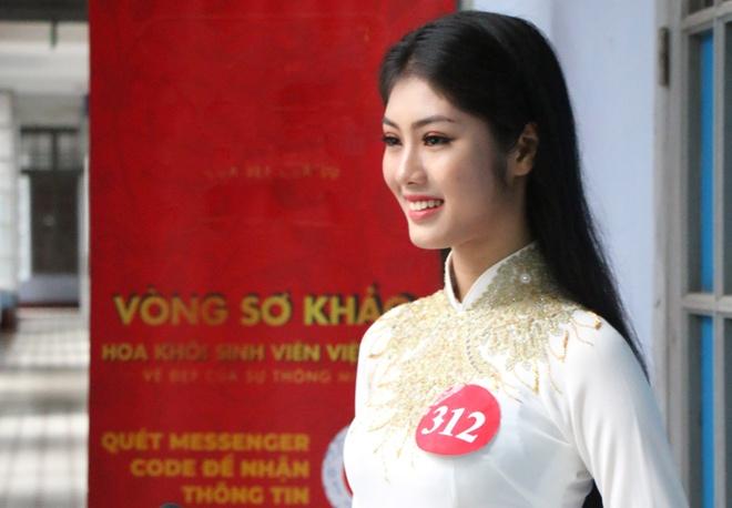 Ve dep cua 10 co gai Hue vao ban ket Hoa khoi Sinh vien Viet Nam 2018 hinh anh 4