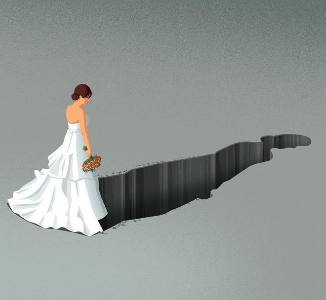 Bộ tranh về sự đổ vỡ trong hôn nhân và nỗi đau của người ở lại - Cộng đồng mạng