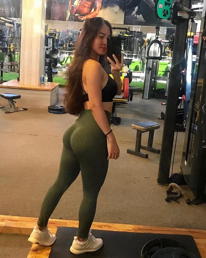 hot girl phong gym anh 11